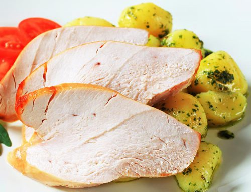 Chicken Cut with Potatoes